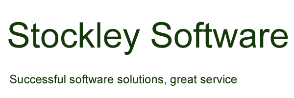 Stockley Software - successful software solutions, great service